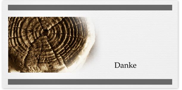Trauerkarten Motiv Bäume 017BA