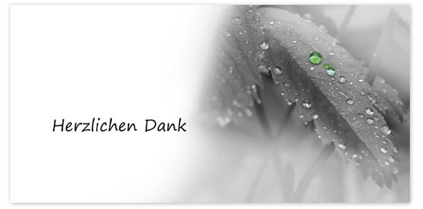 Trauerkarten Motiv Regen 022 BL