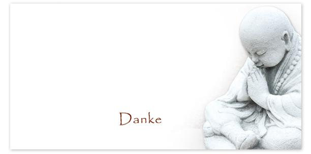 Trauerkarten Motiv Buddha liegend 015 SO
