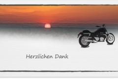 Danksagung, Danksagungskarte Motiv D 029 SO
