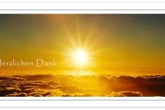 Danksagung, Danksagungskarte Motiv D 016 SU