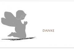 Danksagung, Danksagungskarte Motiv D 032 SY