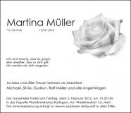 Traueranzeige Motiv A 031 BL - Rose, Rosen, Blume