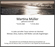 Traueranzeige Motiv A 017 ME - Meer, Strand Abendsonne