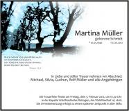Traueranzeige Motiv A 015 WE - Baumallee, Allee, Winter, Schnee