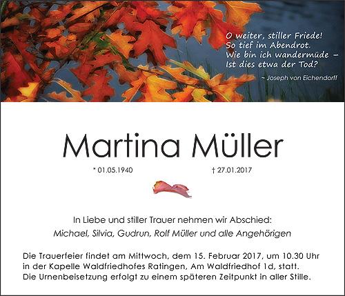 Traueranzeige Motiv Herbstblätter A 017 HE