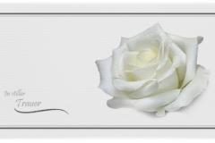 Trauerkarte, Bilder, Rose, Motiv - Nr. 031 BL