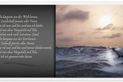 Trauerkarte, Bilder, Dünen, Weg, Landschaft, Abschied, Motiv - Nr. 015 LA