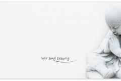 Trauerkarte, Bilder, Buddha, Abschied, Trauer, Motiv - Nr. 015 SO