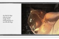 Trauerkarte, Bilder, Buddha , Abschied, Trauer, Motiv - Nr. 019 SO