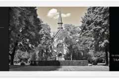 Trauerkarte, Bilder, Kirche, christlich, Abschied, Trauer, Motiv - Nr. 032 SO