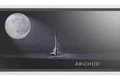 Trauerkarte, Bilder, Mond, Segelboot, Abschied, Trauer, Motiv - Nr. 035 SO