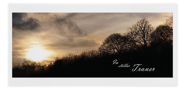 Trauerkarte Motiv - Nr. 019 SU