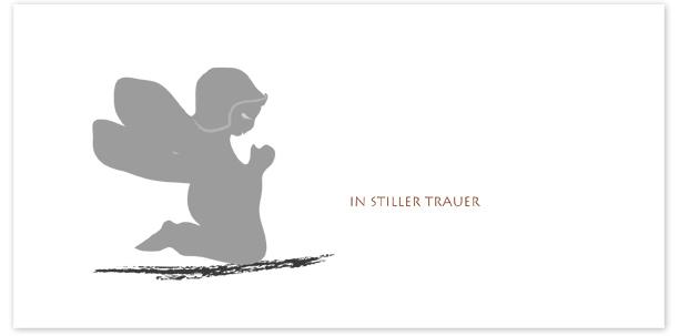 Trauerkarte Motiv - Nr. 032 SY